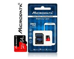 TF/Micro SD Card 64GB MiCRODATA class 10 SDXC - 349 Kč