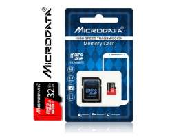 TF/Micro SD Card 32GB MiCRODATA class 10 SDHC  - 238 Kč